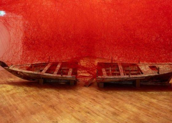 Chiharu Shiota. Photo Credits: Mohamed Somji