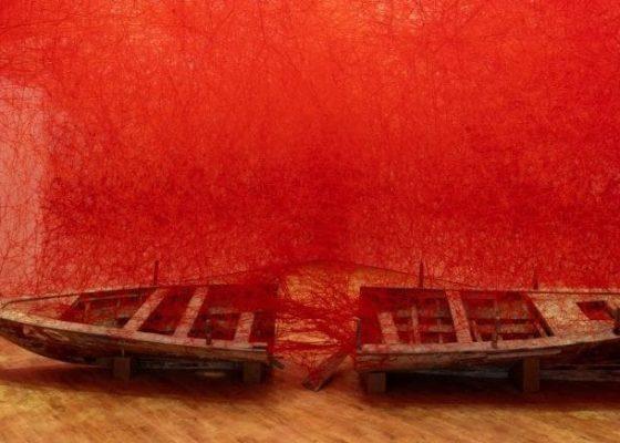 Departure by Chiharu Shiota