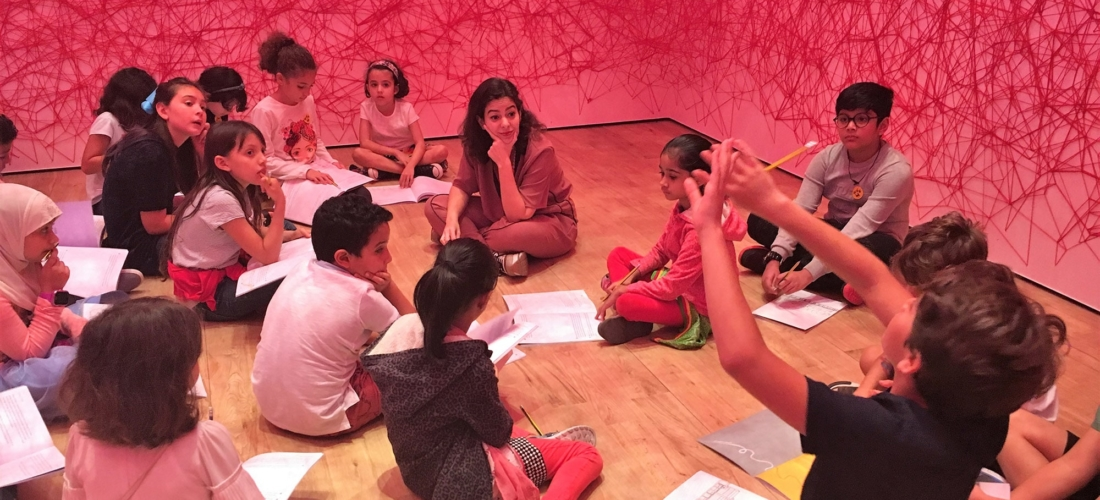 Children's Tour and Workshop led by Nahla Al Tabbaa
