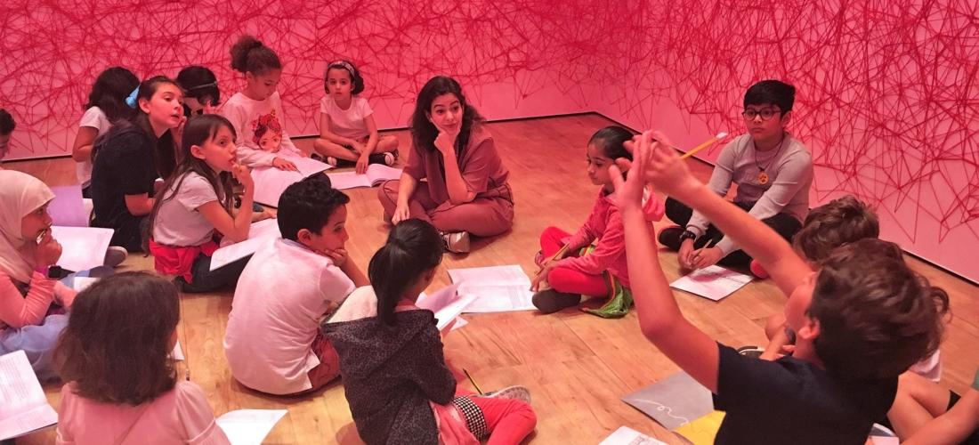 جولة وورشة عمل للأطفال من قبل نهله الطباع