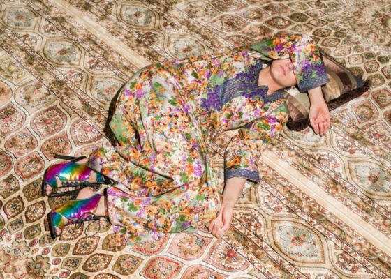 Farah Al Qasimi; M Napping on Carpet 2016