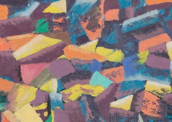 Ibrahim Ismail; Earthquake 1967. Courtesy of Barjeel Art Foundation