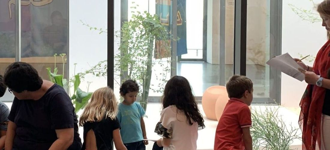 Children's Tour and Workshop led by Reem Falaknaz