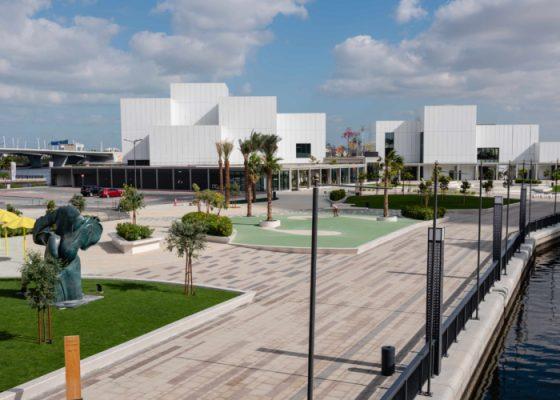 Jaddaf Waterfront Sculpture Park by Mohamed Somji