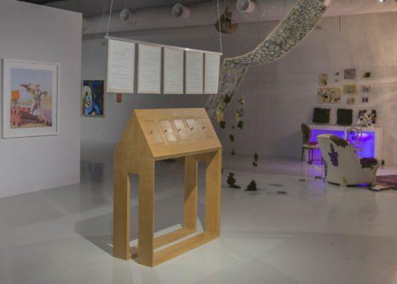 Tashweesh exhibition view. Courtesy of Maraya Art Centre and UAE Unlimited
