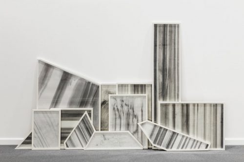 Haig Aivazian, Tiles, 2016, Graphite on paper, Dimensions variable. Art Jameel Collection. Photo courtesy of the artist and Sfeir-Semler Gallery.