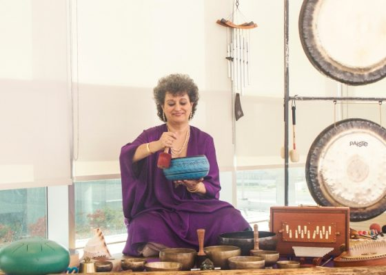 Mindfulness Sound and Gong Session with Zarine Dadachanji