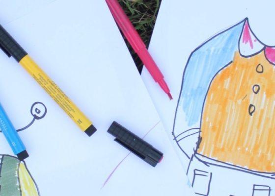 جولة وورشة عمل للأطفال من قبل أسماء خوري