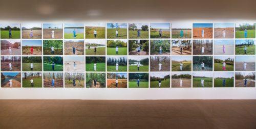 أنوب ماثيو توماس, ممرضات, 2014 , طباعة ملونة وديازيك وكتب, 80 × 60 سم (48 صورة). ﻣﻊ اﻟﺘﻘﺪﻳﺮ ﻟﻠﻔ،ﺎن. مجموعة فن جميل