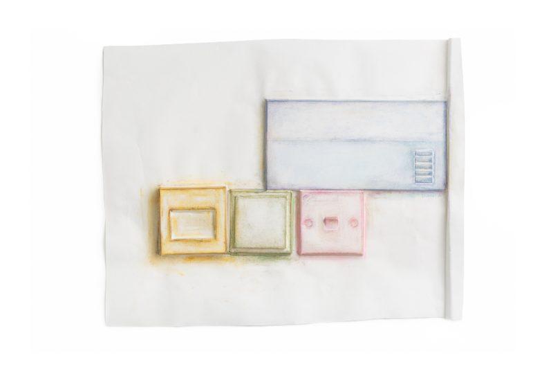 دو هو سوه, احتكاك\محبة، STPI، ستوديو الفنان 38، 41 روبرتسون كواي، سنغافورة، 238236, 2017 ,ألوان باستيل على ورق, 7 ×73.5× 66 سم, كل الحقوق محفوظة: ﻟﻠﻔﻨّﺎن. ﻣﻊ اﻟﺘﻘﺪﻳﺮ ﻟﻠﻔﻨّﺎن وفيكتوريا ميرو ﻏﺎﻟﲑي. مجموعة فن جميل