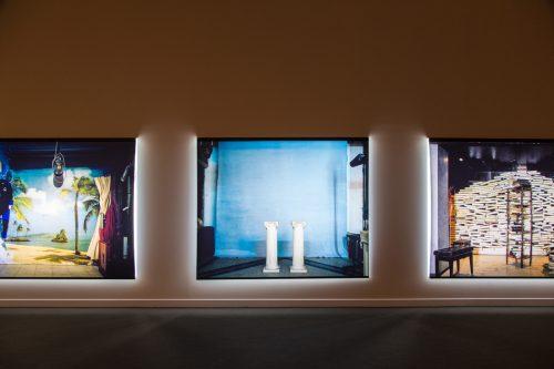 هراير سركيسيان, خلفية, 2013 ,رسومات دوراتران, 230 × 180 سم (6 صورة). مع التقدير للفنان .مجموعة فن جميل
